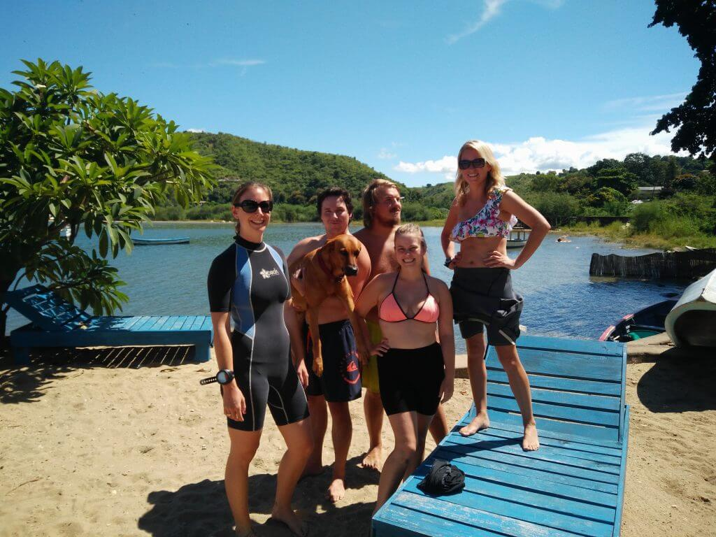 Divemaster course group April 2016